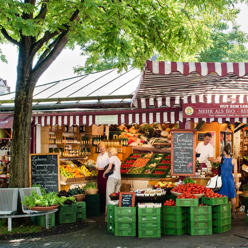 Lebe Gesund mit Gut zum Leben auf dem Viktualienmarkt in München